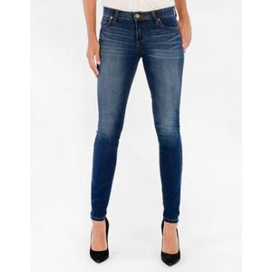Kut From The Kloth Mia Toothpick Skinny Jeans Blue